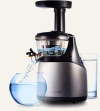 water in slowjuicer