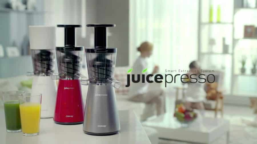 Coway JuicePresso CJP-03 review slowjuicer