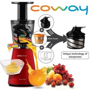 Coway JuicePresso CJP-03 slowjuicer werking