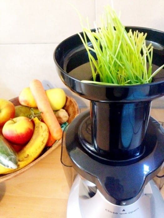 juiceme slowjuicer tarwegras review