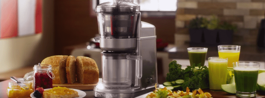 Kitchenaid Artisan slowjuicer review vivajuice.nl