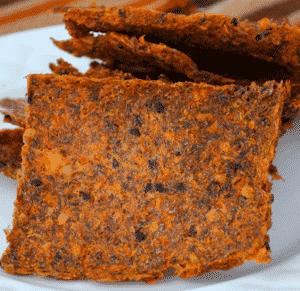 Gezonde Pulp Crackers