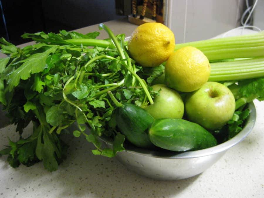 Slow Juicer For Ginger : Green Ginger Gusto slowjuicer recept vivajuice.nl