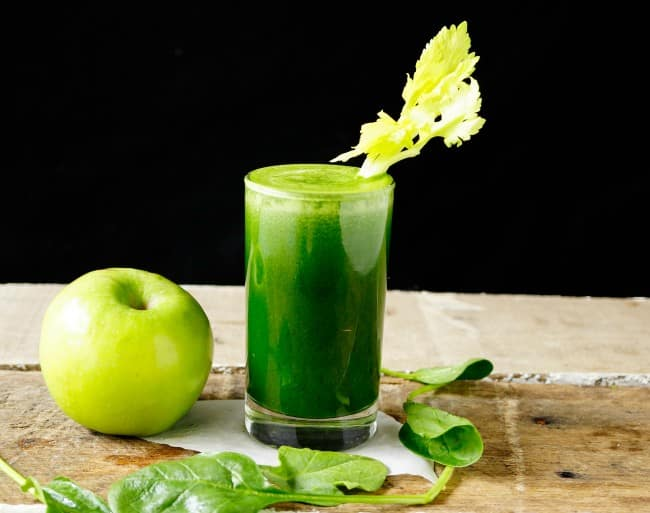 Greens to the rescue slowjuicer recept