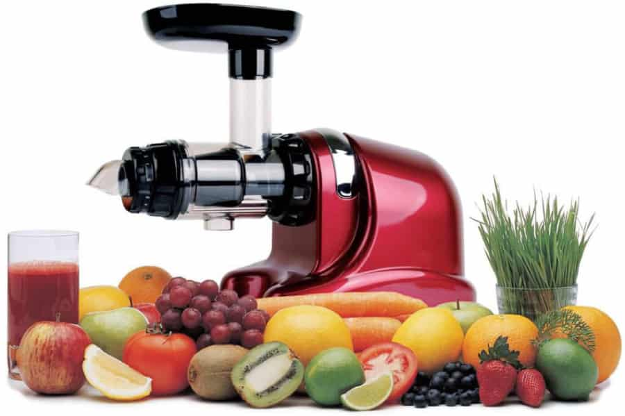 Juicen met juicer