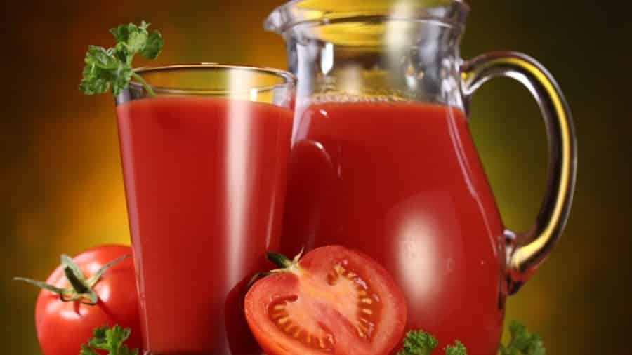 Natuurlijke Tomatensap